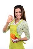 Cuisson des légumes Image stock