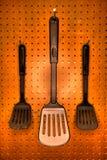 Cuisson des spatules Photo libre de droits