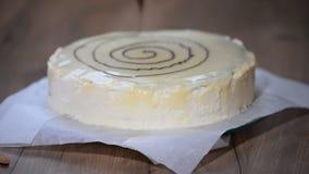 Cuisson du gâteau Gâteau de décoration clips vidéos