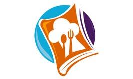 Cuisson du livre Logo Design Template Photos libres de droits