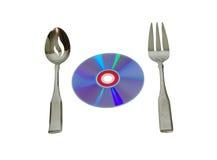 Cuisson du logiciel Image stock