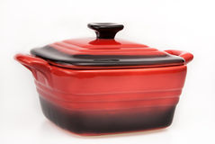 Cuisson du pot Photo stock