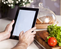 Cuisson, technologie et concept à la maison Image libre de droits