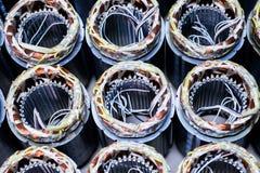 Cuivre de moteur électrique Image stock