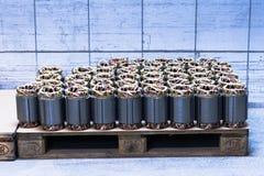 Cuivre de moteur électrique Photo stock