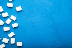 Cukier, glikoza i kaloria nałogu pojęcie, zdjęcie royalty free