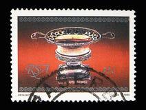 Cukier, kawałek silverware seria około 1985, Fotografia Royalty Free
