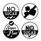 Cukier uwalnia projekt Zdjęcie Stock