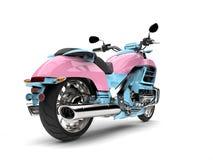 Cukierek barwił potężnego siekacza rower - ogonu widok Obraz Stock