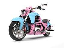 Cukierek barwił potężnego siekacza rower - piękno strzał Zdjęcia Stock