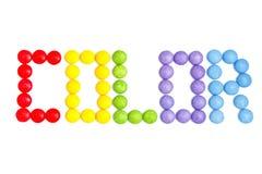 cukierek barwiący Fotografia Stock