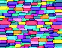 cukierek ściana s Zdjęcia Royalty Free