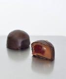 cukierek czekolada dwa Fotografia Stock