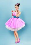 Cukierek dziewczyna Obraz Royalty Free