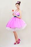 Cukierek dziewczyna Fotografia Stock