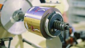 Cukierek fabryka Przemysłowi maszynowi opakunkowi cukierki zbiory wideo