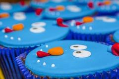 Cukierek i urodzinowy tort obrazy royalty free