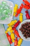cukierek kolorowy obraz stock