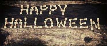 Cukierek kukurudza Szczęśliwy Halloween 1 Zdjęcia Royalty Free