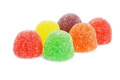 cukierek miękka część kolorowa galaretowa Fotografia Royalty Free
