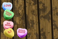 Cukierek miłość Zdjęcie Royalty Free