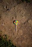 Cukierek na ziemi Zdjęcie Stock