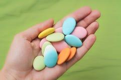 cukierek ręka Obraz Stock