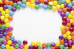 Cukierek rama obrazy stock