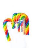 Cukierek trzciny Obrazy Royalty Free