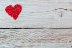 Cukierek w postaci czerwonych serc Fotografia Stock