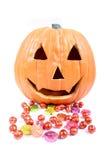 cukierków Halloween. Fotografia Stock