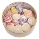cukierków owoc słój mieszająca cyna Zdjęcia Royalty Free