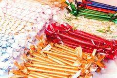 cukierków piękni opakowania Zdjęcie Stock