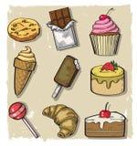 Cukierki Bezszwowy Zdjęcie Stock