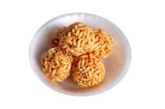 Cukierki chuchał ryż Zdjęcie Stock