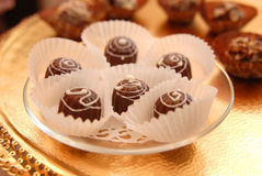 cukierki czekoladowi Zdjęcia Stock