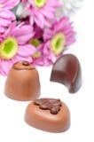 cukierki czekoladowi obrazy royalty free