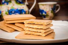 Cukierki dla herbaty fotografia stock