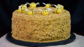 Cukierki domu płatowaty miodowy tort zbiory wideo