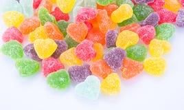 Cukierki galaretowi cukierki na tle galaretowi cukierki na backg Zdjęcia Stock
