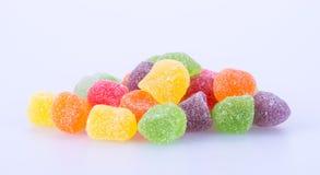 Cukierki galaretowi cukierki na tle galaretowi cukierki na backg Zdjęcia Royalty Free