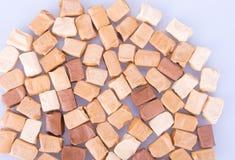 Cukierki Karmel cukierki karmel cukierki na tle caram Fotografia Stock