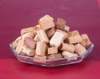Cukierki Karmel cukierki karmel cukierki na tle caram Obrazy Stock