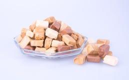 Cukierki Karmel cukierki karmel cukierki na tle caram Obraz Stock
