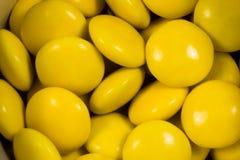 cukierki kolor żółty Obrazy Stock