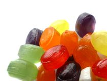 cukierki kolorowi Fotografia Stock