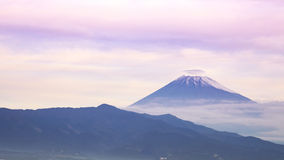 Cukierki Mt Fuji w ranku Obrazy Stock