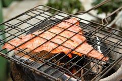 Cukierki piec na grillu ryba Obrazy Stock