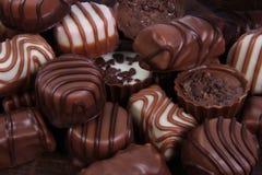 Cukierki praline czekolada Obrazy Stock