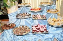 cukierki table3 Obraz Royalty Free